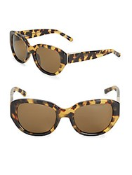 3.1 Phillip Lim Cat's Eye Sunglasses Brown