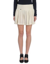 Adidas Slvr Mini Skirts Beige