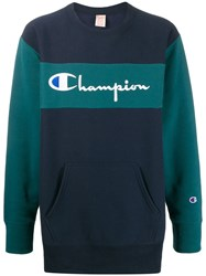 Champion Two Tone Embroidered Logo Sweatshirt 60