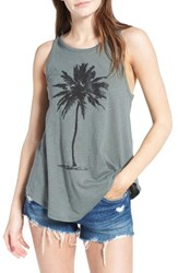 O'neill Women's Lone Palm Graphic Tank