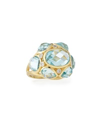 Jude Frances Couture Multi Stone Dome Ring