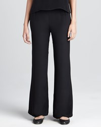 Caroline Rose Crepe Wide Leg Pants Women's