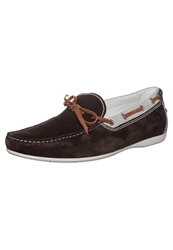 Stonefly Sunny 5 Boat Shoes Dark Brown