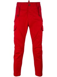 Dsquared2 Straight Leg Chino Trousers