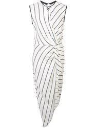 Yigal Azrouel Knotted Front Tunic Top White