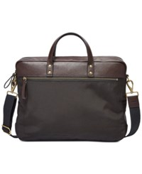 Fossil Haskell Briefcase Black