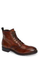 To Boot New York Auckland Wingtip Brown Leather