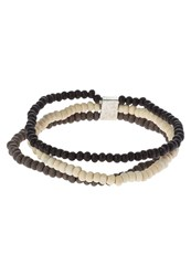 Icon Brand Real Life Bracelet Grey Brown