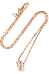 Piaget Possession 18 Karat Rose Gold Diamond Necklace One Size