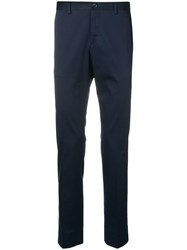 Paul Smith Ps Slim Fit Tailored Trousers Blue