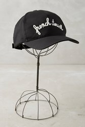 Anthropologie French Touch Baseball Cap Black