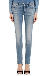 Givenchy Women's Star Detailed Jeans Blue