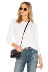 Amo Loved Sweatshirt White