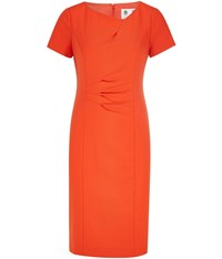 Austin Reed Orange Crepe Dress