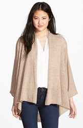 Women's Nordstrom Open Front Cashmere Cardigan