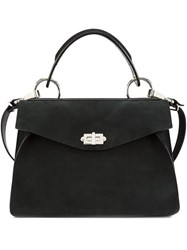 Proenza Schouler Medium 'Hava' Top Handle Tote Black