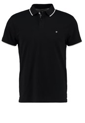 Wrangler Regular Fit Polo Shirt Black