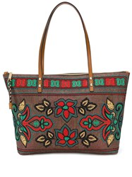 Etro Embroidered Floral Shopper Tote 60