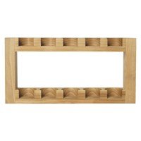 Habitat Madera Wooden Spice Rack Natural