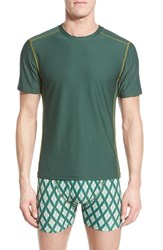 Men's Exofficio 'Give N Go Sport' Mesh Crewneck T Shirt Petrol