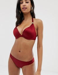 Dorina Jamaica Shiny Super Push Up In Red