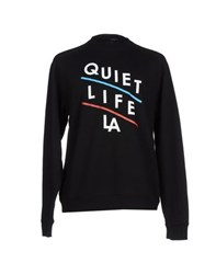 The Quiet Life Topwear Sweatshirts Men Black