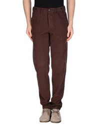 Myths Casual Pants Dark Brown