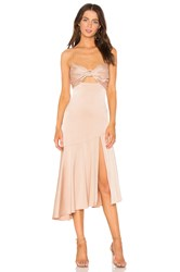 Misha Collection Lidia Dress Blush