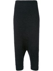 Forme D'expression 'Trapez' Tapered Trousers Black