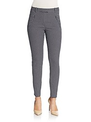 Hugo Boss Anaita Printed Trousers Grey