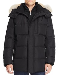 Marc New York Winslow Hooded Down Parka Jet Black