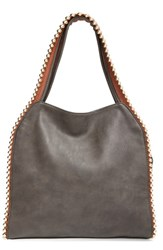 Big Buddha 'Grayson' Hobo Grey Charcoal