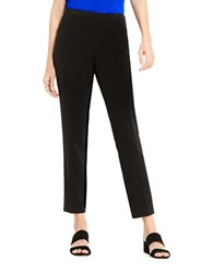 Vince Camuto Solid Ankle Length Pants Black