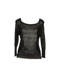 Appartamento 50 Short Sleeve Sweaters Black