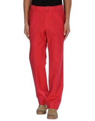 Faconnable Casual Pants Red