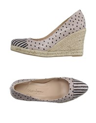 Marian Footwear Espadrilles Women Dove Grey