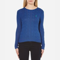 Polo Ralph Lauren Women's Julianna Crew Neck Jumper Big Sur Blue