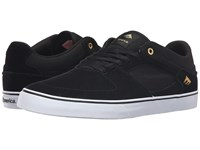Emerica The Hsu Low Vulc Black White Men's Shoes