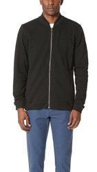 Rvca Zip Thru Bomber Jacket Black