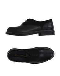 Opening Ceremony Footwear Lace Up Shoes Men Black
