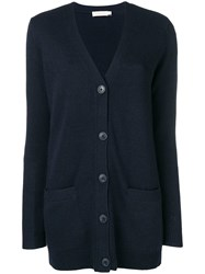 Tory Burch Buttoned Up Cardigan Blue