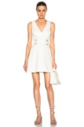 Lover Drifter Mini Pinafore Dress In White