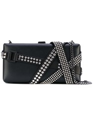 Dsquared2 Studded Belleville Clutch Bag Women Calf Leather Leather Metal One Size Black