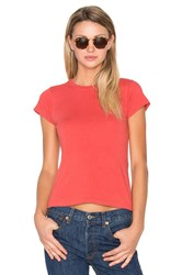 Re Done 1960'S Slim Tee Red