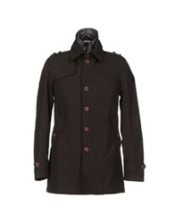 Geospirit Jackets Dark Brown