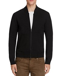 Reigning Champ Heavyweight Terry Varsity Jacket Black