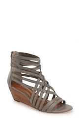 Women's Hinge 'Neta' Leather Wedge Sandal 2 1 4' Heel