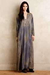 Burning Torch Antonia Pieced Maxi Dress Grey