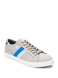 Penguin Lace Up Sneakers Grey