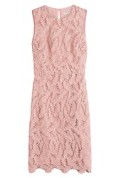 Emilio Pucci Crochet Dress Pink